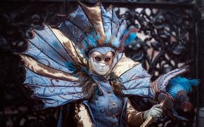 Picture costume, Venice, carnival