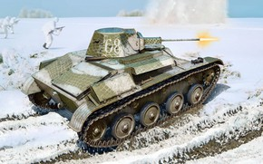 Picture The red army, The red army, Soviet light tank, T-60, The worker-peasant Red army, The ...