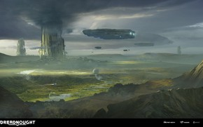 Picture clouds, transport, facilities, DREADNOUGHT, Terraforming