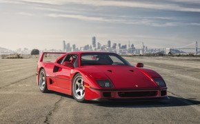 Picture Ferrari, Red, F40