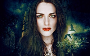 Picture actress, the series, Merlin, the role, Morgan, Katie McGrath, fantasy, Kathrin McGrath