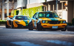 Wallpaper RX-3, photographer, Mazda, 650S, street, Liberty Walk, the city, Dino Dalle Carbonare, McLaren, LBW