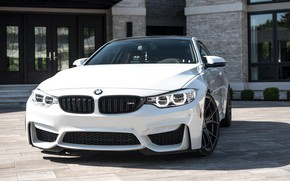 Picture BMW, Beautiful, White, F82, Sight