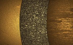 Wallpaper golden, gold, texture, background