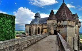 Picture France, Castle, Castelnau, Castelnaud
