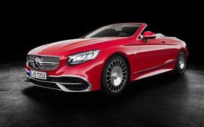 Picture convertible, Cabriolet, Mercedes-Maybach, S650
