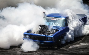 Wallpaper Chevrolet, burnout, chevrolet, pickup, pickup