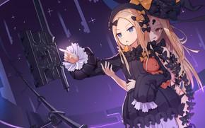 Picture anime, art, girl, keys, fate/grand order