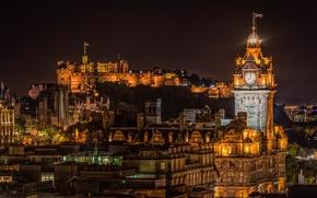 Picture Scotland, Scotland, Edinburgh, Edinburgh, Edinburgh Castle, Balmoral Hotel