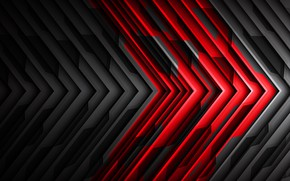 Picture strip, background, black and red, abstractia