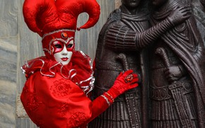 Picture mask, Venice, carnival