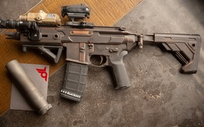 Picture weapons, rifle, weapon, custom, ar-15, assault rifle, assault rifle, assault Rifle, AR-15