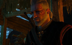 Picture Scars, Geralt of Rivia, The Witcher 3, the witcher 3