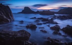 Picture coast, Scotland, Scotland, Cullen, Morayshire, Cullen Bay