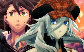 Picture girl, game, anime, boy, manga, japanese, God Eater