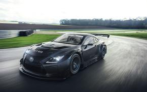 Picture car, Lexus, race, speed, Lexus RC F GT3