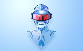 Picture Music, Background, Mask, Daft Punk, Thomas Bangalter, Daft Punk