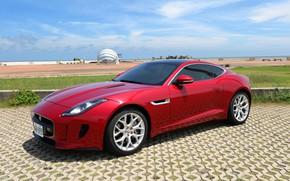 Picture red, design, style, Jaguar, Jaguar