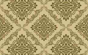 Wallpaper seamless, Damask, wallpaper, pattern, pattern., ornamen, vintage