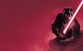 Picture Red, Black, Star Wars, Helmet, Star wars, Darth Vader, Mask, Red, Cloak, Lightsaber, Black, Darth ...