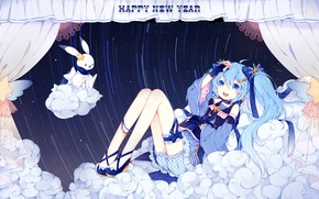 Picture look, smile, girl, Vocaloid
