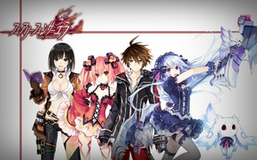 Picture girl, gun, game, weapon, anime, asian, japanese, oriental, asiatic, oppai, kanji, lolita, loli, RPPG, Fairy …