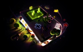 Wallpaper Game, Graphics, Nintendo, GameBoy, GameBoy DMG, DMG