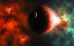 Picture Apocalypse, black hole, space, a supernova explosion