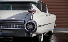 Picture retro, Cadillac, classic, Sedan, 1959, deVille