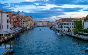 Picture home, Italy, Venice, The Grand Canal