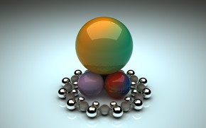 Picture balls, background, balls