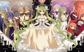 Picture children, dress, Vocaloid, Vocaloid, characters