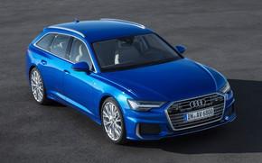 Picture auto, Asphalt, Audi A6 55 TFSI quattro S line Avant.
