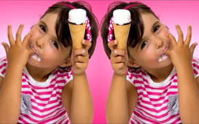 Picture Girl, oops, two, sweet, baby, cream, candy, children, kid