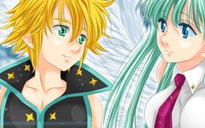 Picture game, anime, asian, manga, Nanatsu no Taizai, The Seven Deadly Sins, japonese