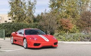 Picture Ferrari, Red, 360