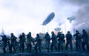 Picture war, soldiers, EA DICE, Battlefield 1