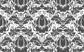 Wallpaper flowers, vector, vector, texture, flower, design, texture, background, pattern, seamless