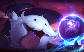 Picture Language, Mustache, Ball, Hat, Art, League of Legends, LoL, League Of Legends, Poro, Worlds, Predictions, …