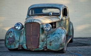 Picture machine, background, Dodge