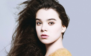 Picture look, face, actress, singer, Hailee Steinfeld, Haley Steinfeld