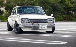 Picture Auto, White, Machine, Classic, Nissan, Nissan, Car, 2000, Skyline, Nissan Skyline, 2000GT, Japanese, 2000GT-R, 2000 …