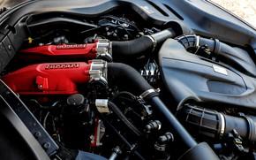 Picture engine, Ferrari, 2018, Portofino, V8, 600 HP, 3.9 L.