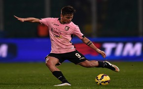 Picture pink, Paulo Dybala, joma, Argentine football player, palermo
