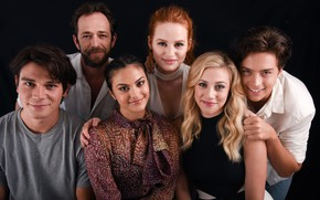 Picture Riverdale, Veronica Lodge, Camila Mendes, Betty Cooper, Cole Sprouse, Lili Reinhart, Riverdale, Cheryl Blossom, Madelaine ...