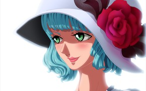 Picture girl, game, One Piece, hat, woman, anime, manga, CP-0, agent of CP-0
