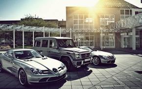Picture SLR, Mercedes, Mclaren, G65