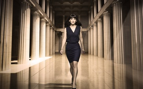 Picture Fox, dress, brunette, tv series, spin-off, Sheila Vand, 24: Legacy, Nilaa