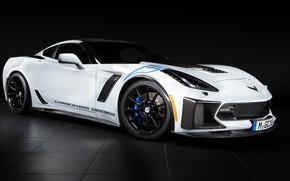 Wallpaper Z06, Corvette, Chevrolet, 2018, Geiger, Carbon 65 Edition
