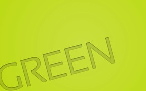 Picture text, letters, green, color, green, the word